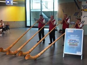 1 juli 2011: aankomst vliegveld Genéve
