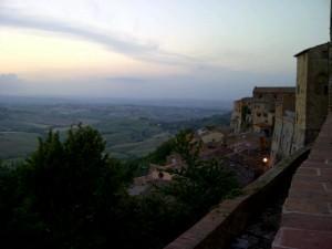 Montepulciano en de avondstond