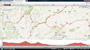 Etappe vrijdag 7 juni 2013, Vitina Epidaurus