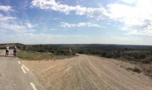 Juni 1, 2015 Panorama van de vlakte voor Lleida (1)