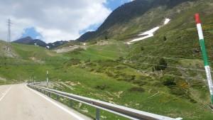Juni 2, 2015 nadering en beklimming col de Bonaigua (10)