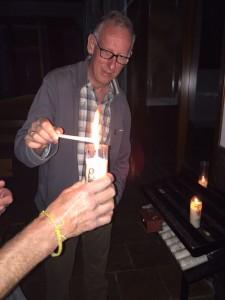 Mei 30, 2015 Voodoo ritueel om benen van Jaap en Fred te ontregelen